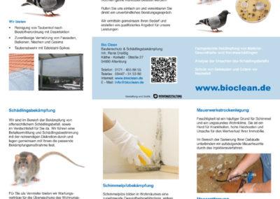 BioClean – Flyer DIN lang
