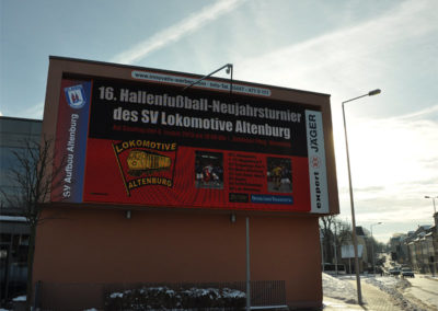 SV LOK Altenburg – LED Werbung