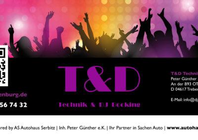 T&D Technik & DJ Booking - Bauzaunplane