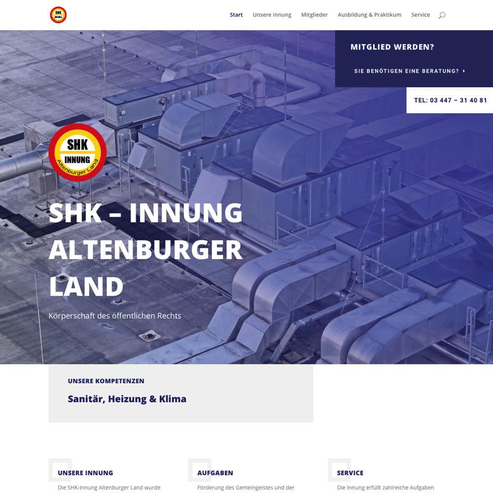 SHK – Innung Altenburger Land